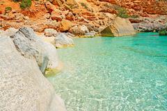 Stock Photo of emerald sea