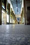 shopping arcade, stuttgart, germany - stock photo
