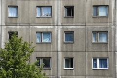 sulky living socialistic style appartments berlin germany - stock photo