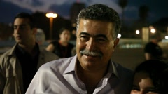 Amir Peretz, an Israeli politician, Minister of Environmental Protection - stock footage