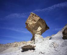 Desert at nipple bench, glen canyon national recreation area, utah, usa Stock Photos
