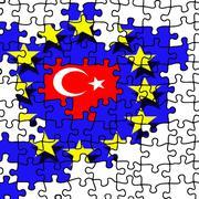 Stock Illustration of eu entry of turkey