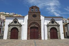 Stock Photo of church of nuestra senora de la asuncion in the capital san sebastian, la gome