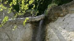 Chalk Cliffs on Rügen Island - Baltic Sea, Northern Germany Stock Footage