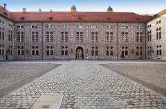munich residence, munich, bavaria, germany - stock photo