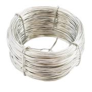Coil of metal wire - stock photo