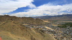 Lekh  panoram  open Stock Footage