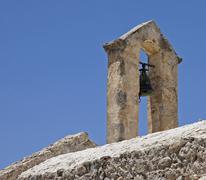Stock Photo of belfry, crete, greece
