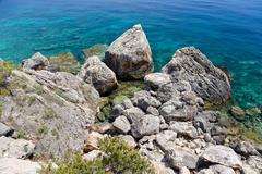 Stock Photo of coast, island hvar, dalmatia, croatia