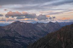 Refuge du pelvoux 2700m, provence-alpes-cote de azur, hautes-alpes, france Stock Photos