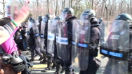 Stock Video Footage of Militarized Police