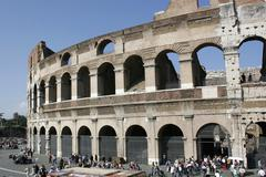 Stock Photo of the colosseum or coliseum, originally known as the flavian amphitheatre, rome