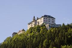 Stock Photo of strechau castle community of rottenmann district of liezen styria austria