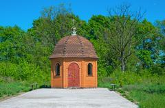 chapel - stock photo