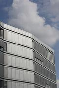 Modern facade, hafencity, hamburg, germany, europe Stock Photos