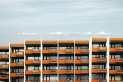 Stock Photo of building with holiday apartments in sleaford, schleswig-holstein, germany, eu