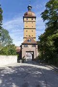 Stock Photo of segringer tor gate, dinkelsbuehl, administrative district of ansbach, middle