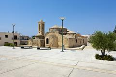 Agia paraskevi church, also called ayia paraskevi church, yeroskipou, unesco  Stock Photos