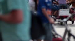 Street life Stock Footage