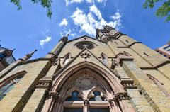 St. peter's episcopal church - albany, new york Stock Photos
