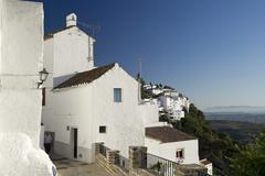 Casares, costa del sol, andalusia, spain, europe Stock Photos