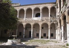 castillo del fontanar in the andalusian city of bornos, spain, europe - stock photo