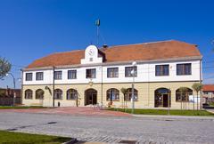 Stock Photo of township municipal office, brankovice, vyskov district, south moravia region,