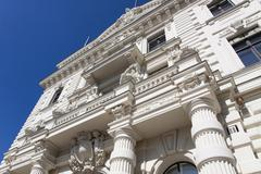 Stock Photo of facade of the administrative court building, potsdam, brandenburg, germany, e
