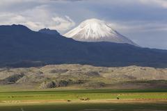 Little Ararat Mount Sis or Lesser Ararat Kucuk Agri Dagi Dogubayazit Stock Photos