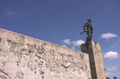 Stock Photo of Monument and mauseleum in honour of the national hero Che Guevara Santa Clara