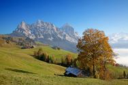 Stock Photo of autumn in alps
