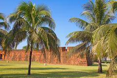 Stock Photo of fort in maputo, mozambique
