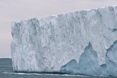 Brasvellbreen longest glacier front of the northern hemisphere Austfonna Stock Photos
