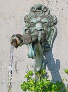 Ancient fountain Stock Photos