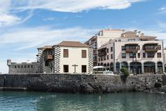 Stock Photo of Casa de la Aduana Old Customs House at the harbour Puerto de la Cruz Tenerife
