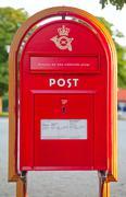 Old post box Kuvituskuvat
