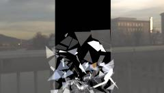 Glass Break  13 Stock Footage