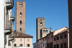 Alba (cuneo, italy) Stock Photos