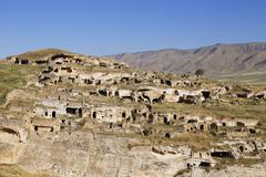 Ruins on the fortress hill of Kale Hasankeyf Batman Province Southeastern Kuvituskuvat