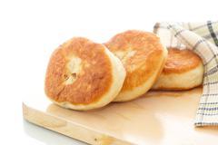 potato patty - stock photo