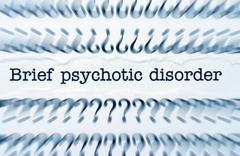 Psychotic disorder Stock Photos