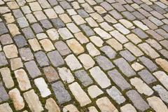 Irregular paving stones Ottawa Ontario Canada North America Stock Photos