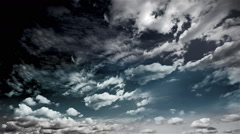 Sky Dynamic Timelapse Clouds 3 Stock Footage