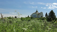 A small chapel Stock Footage