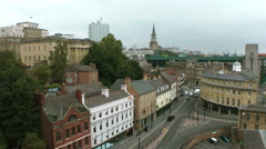 Newcastle upon Tyne, United Kingdom Stock Footage