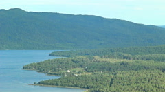 Stock Video Footage of Lake, mountain range in Sweden
