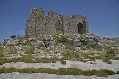 Fortress of Tureta 6th century Kornat Island Kornati Islands Kornati National - stock photo