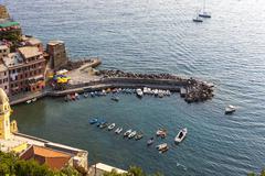 Stock Photo of Fishing village of Vernazza Cinque Terre UNESCO World Heritage Site Riviera di