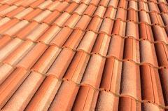 Spanish tile roof Kuvituskuvat
