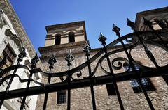 jesuit church of compania de jesus, unesco world heritage site, cordoba, arge - stock photo
